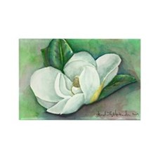 Southern Magnolia Rectangle Magnet