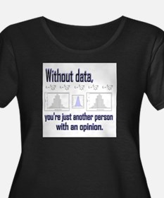 Without Data Plus Size T-Shirt