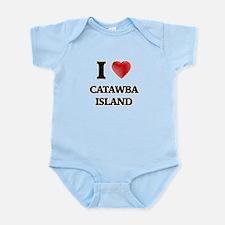 I love Catawba Island Ohio Body Suit