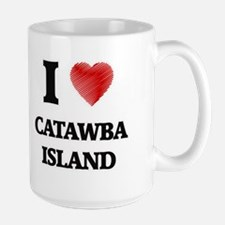 I love Catawba Island Ohio Mugs