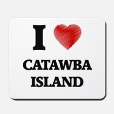 I love Catawba Island Ohio Mousepad