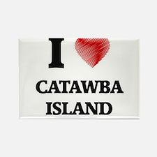 I love Catawba Island Ohio Magnets
