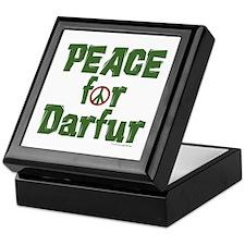 Peace For Darfur 1.6 Keepsake Box