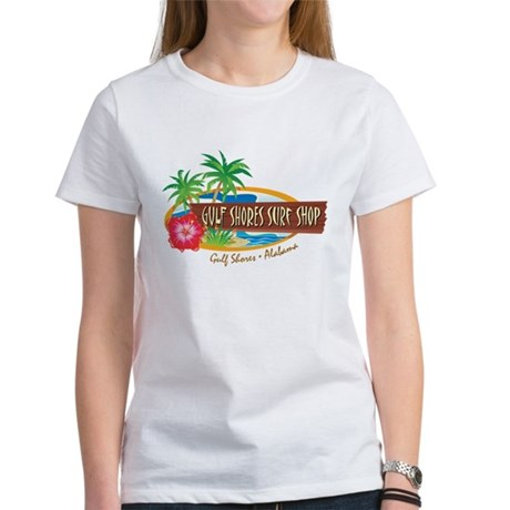 Gulf Shores Surf Shop - Women's T-Shirt