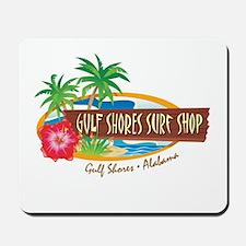 Gulf Shores Surf Shop -  Mousepad