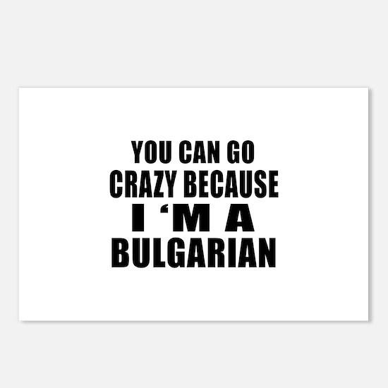 Bulgarian Designs Postcards (Package of 8)