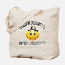 Smile If You Love Data analyst Tote Bag