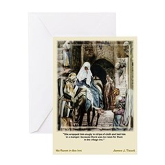 No Room-Tissot-Christmas Card