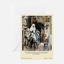No Room-Tissot-Christmas Card