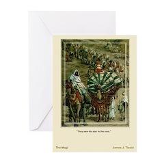 The Magi-Tissot-Christmas Cards (Pk of 10)