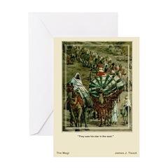 The Magi-Tissot-Christmas Card