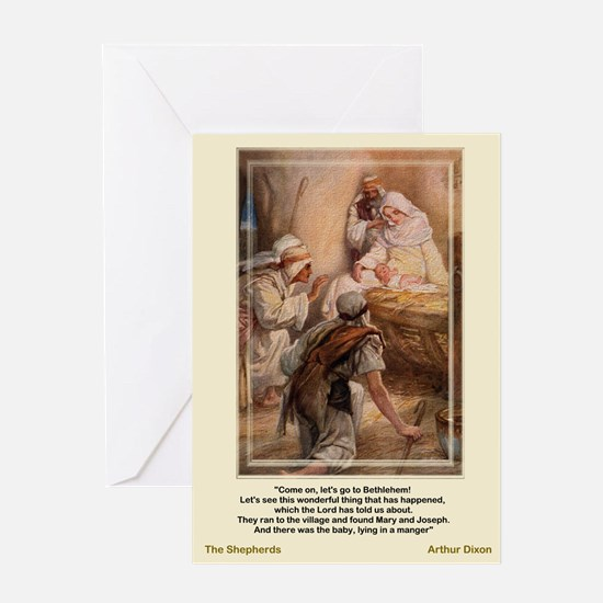 The Shepherds Worship-Dixon-Christmas Card
