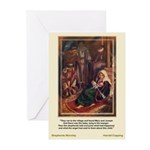 Shepherds Worship-CoppingChristma Cards (Pk of 10)