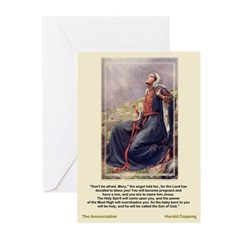 The Annunciation-Copping-Christma Cards (Pk of 10)