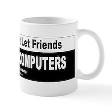3-AppleBumperSticker_200dpi_4h Mugs
