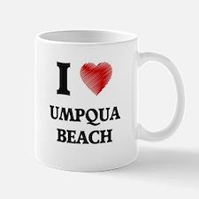 I love Umpqua Beach Oregon Mugs