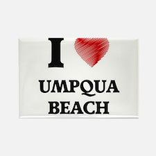 I love Umpqua Beach Oregon Magnets