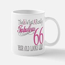 66th Birthday Gifts Mug