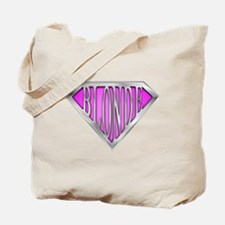 SuperBlonde(pink) Tote Bag