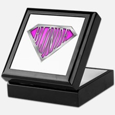SuperBlonde(pink) Keepsake Box
