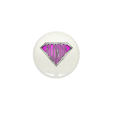 SuperBlonde(pink) Mini Button (100 pack)