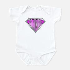 SuperBlonde(pink) Infant Bodysuit