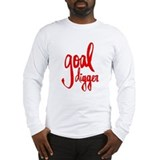 Goal digger Long Sleeve T-shirts