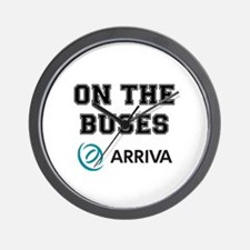 ON THE BUSES - ARRIVA Wall Clock