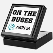 ON THE BUSES - ARRIVA Keepsake Box