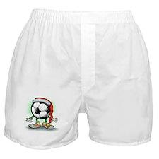 Cute Soccerball Boxer Shorts