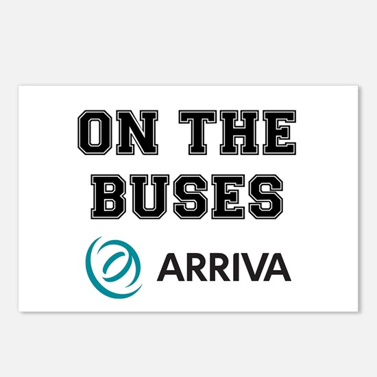 ON THE BUSES - ARRIVA Postcards (Package of 8)