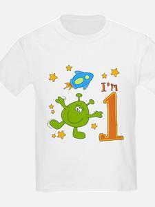 Lil Alien First Birthday T-Shirt