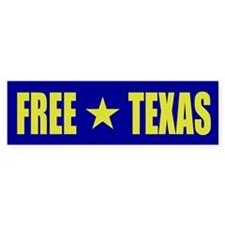 Free Texas Bumper Bumper Sticker