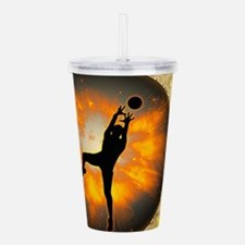 Volleyball player Acrylic Double-wall Tumbler