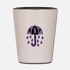 RIP Umbrella Shot Glass