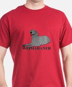 Cartoon Weimaraner T-Shirt