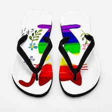 Funny Gay bears Flip Flops