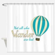 All Wander Shower Curtain
