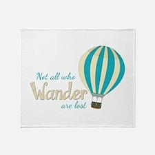 All Wander Throw Blanket