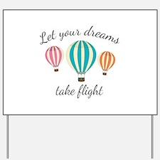 Take Flight Yard Sign