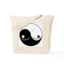 Ying Yang Woman Tote Bag