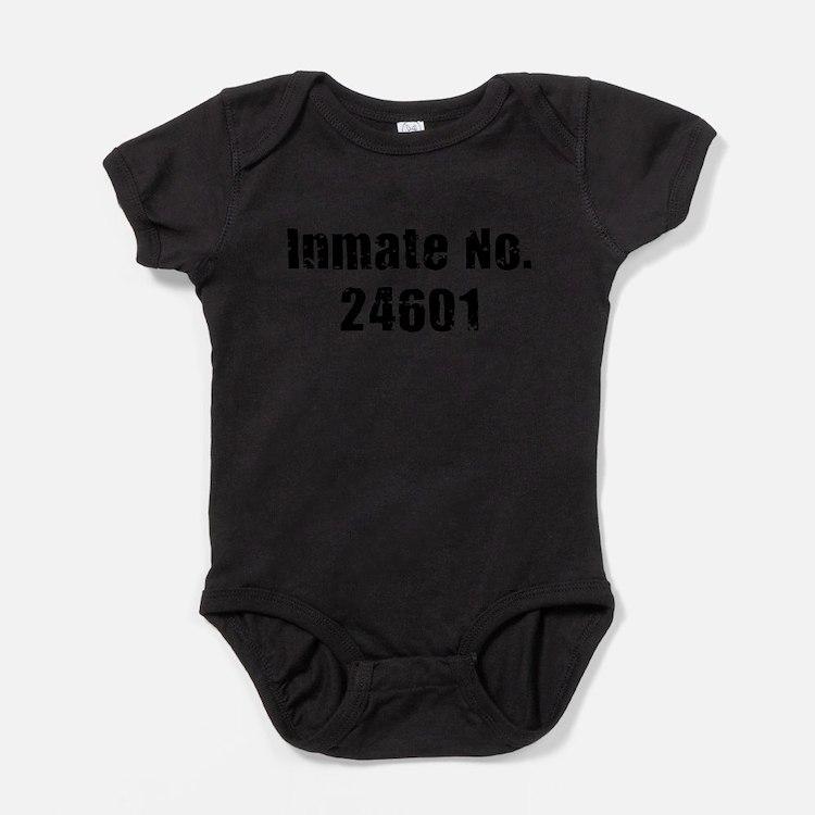 Cute Prisoner Baby Bodysuit