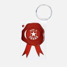 Unique Red texas seal Keychains
