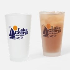 Lake George New York Drinking Glass