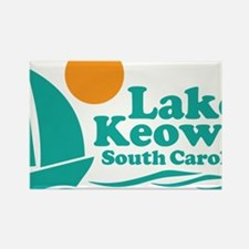 Funny Lake keowee Rectangle Magnet