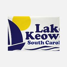 Cute Lake keowee Rectangle Magnet