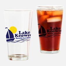Lake Keowee South Carolina Drinking Glass