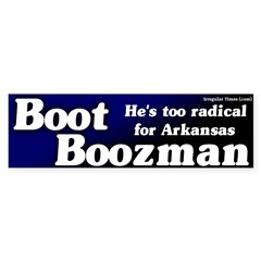 Boot Boozeman Bumper Bumper Sticker