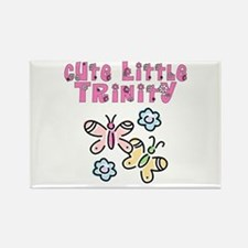 Cute Little Trinity Rectangle Magnet