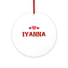 Iyanna Ornament (Round)